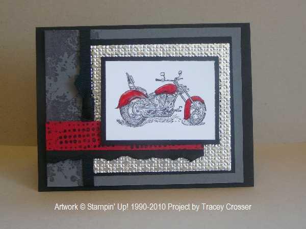 Marvelous Inking Around Stampin Up Downline Meeting Motorcycle Personalised Birthday Cards Akebfashionlily Jamesorg